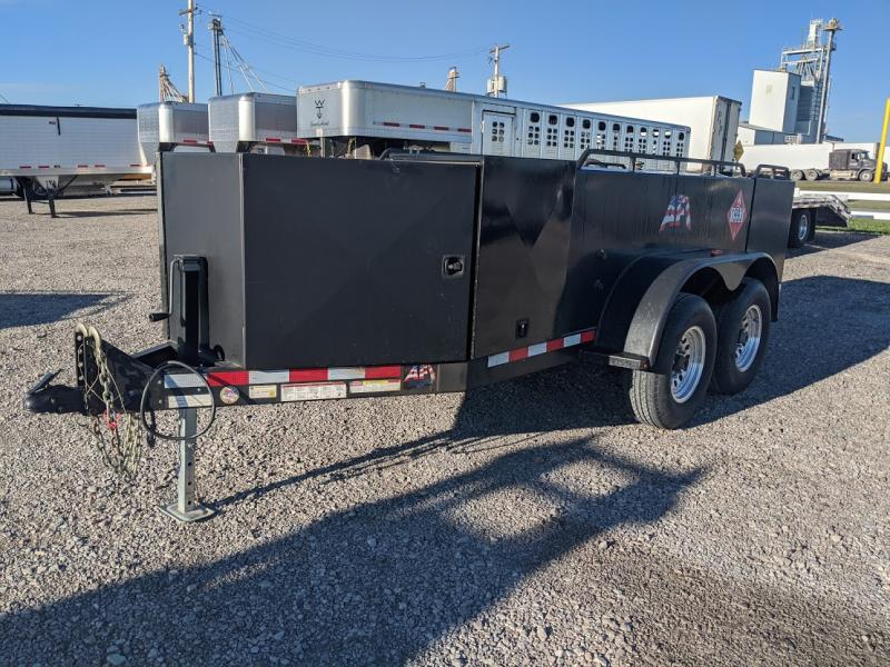 2014 Afi 750 750 Gal Fuel Trailer W/ Def Fuel Trailer