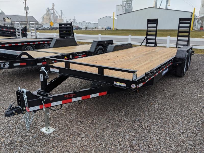 2020 Sure Trac 7x20 Implement 14k Std Equipment Trailer