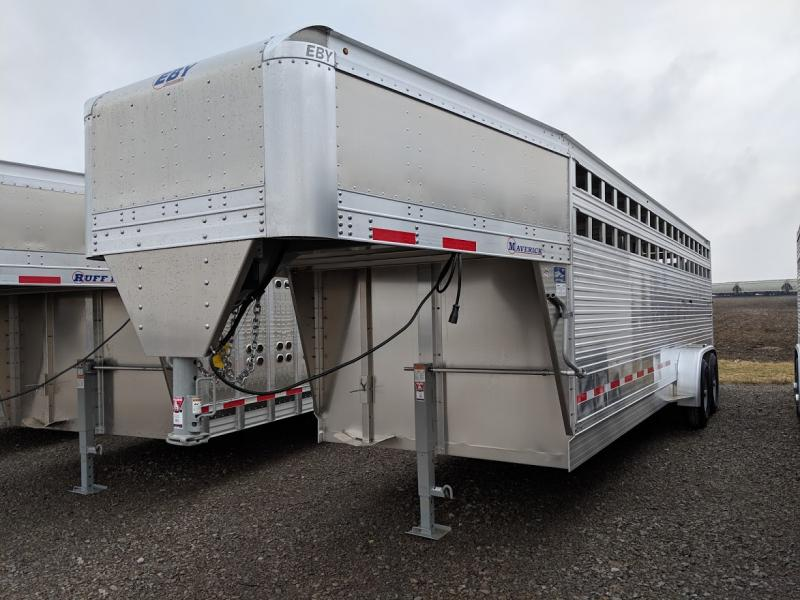 2020 Eby 24' Maverick Freedom Plus Livestock Trailer