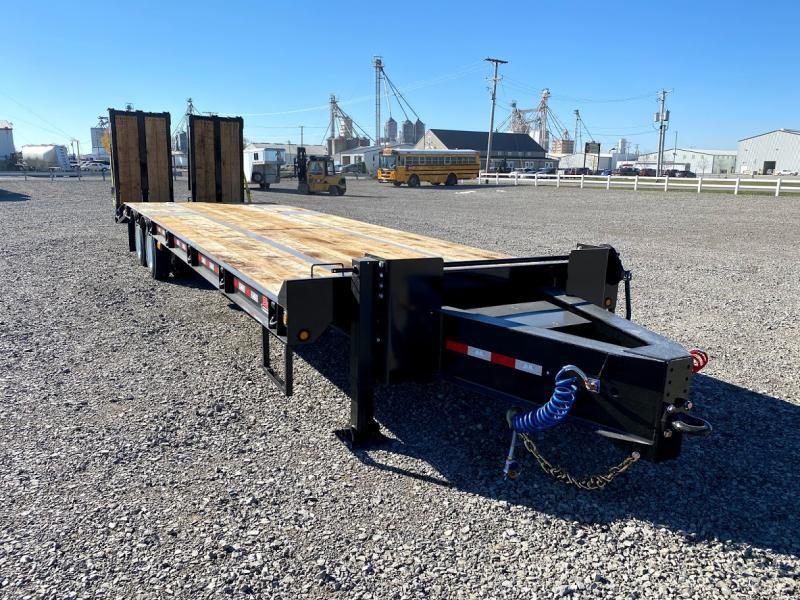 2021 B-b Trailers 8.5'x27'+6' Air Brake 40k Deck Over Trailer