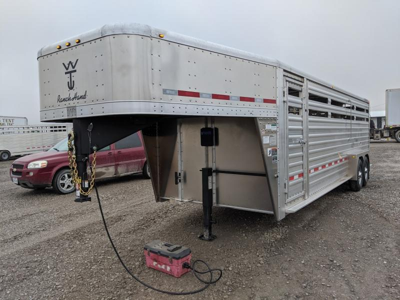 2021 Wilson 24' Ranch Hand Slat Side Livestock Trailer