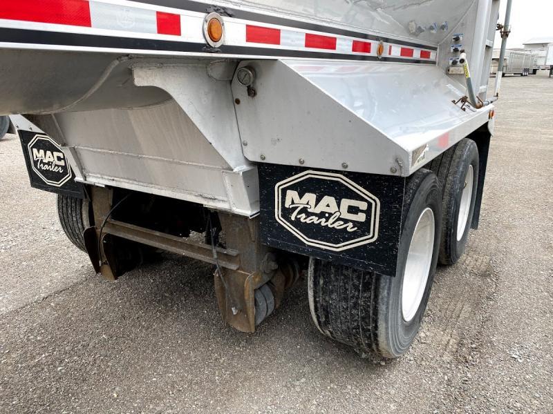 2009 Mac Half Round Dump Trailer