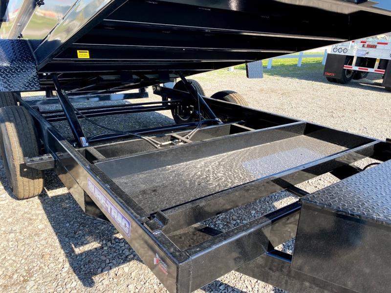 2022 Sure-trac 82x14 14k Lp Dump Trailer Dump Trailer