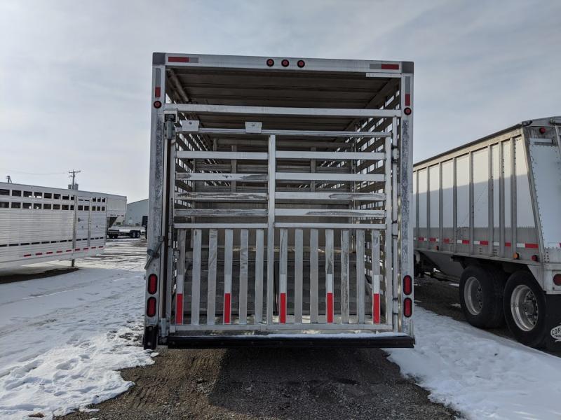 2018 Homemade Ground Load Livestock Trailer