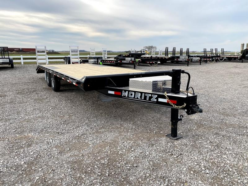 2021 Moritz 20'+4' 14k Equipment Trl Deck Over Trailer