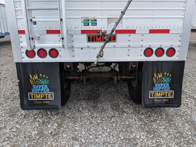 2009 Timpte 40' Grain Hopper Hopper Trailer