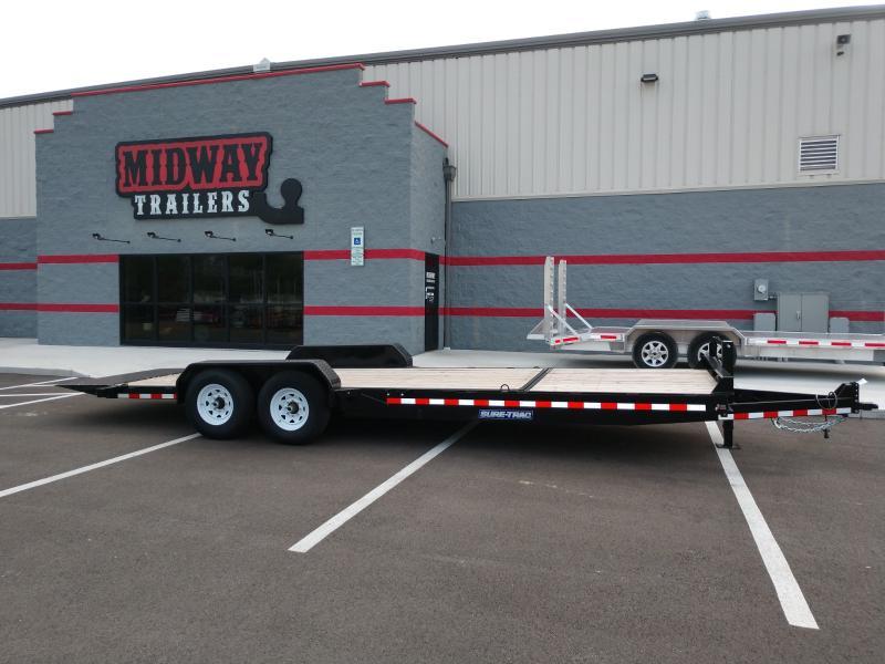 2019 Sure-trac 7'x18' +6 Tilt 14k Equipment Trailer