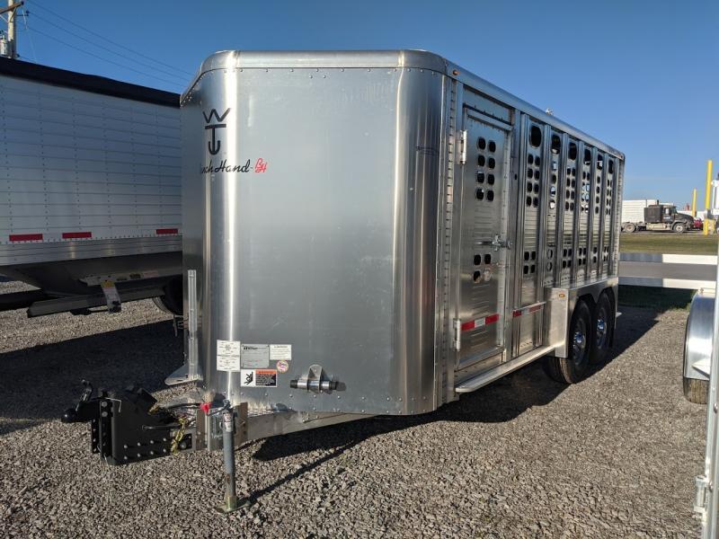 2021 Wilson 16' Ranch Hand Livestock Trailer