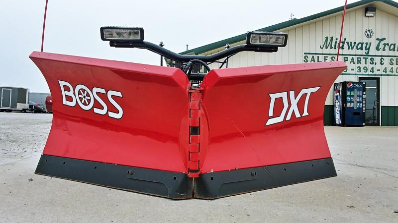 "2018 Boss 9'2"" Dxt V-plow Steel Snowplow"