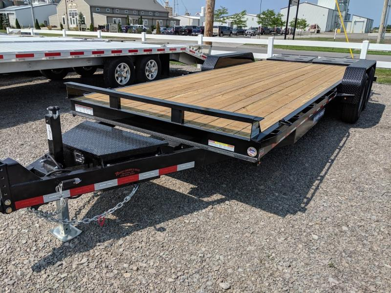 2019 Sure Trac 7'x17'+3' Equip 14k Equipment Trailer
