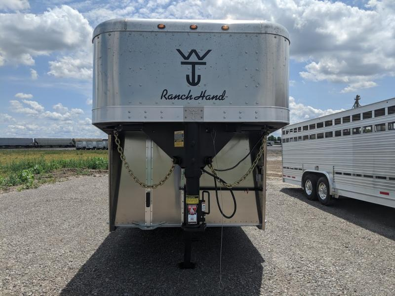 2021 Wilson 24' Ranch Hand Livestock Trailer