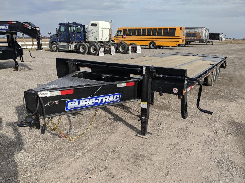 2020 Sure Trac 8.5 X 20+5 Deckover 22.5k Bp Deck Over Trailer