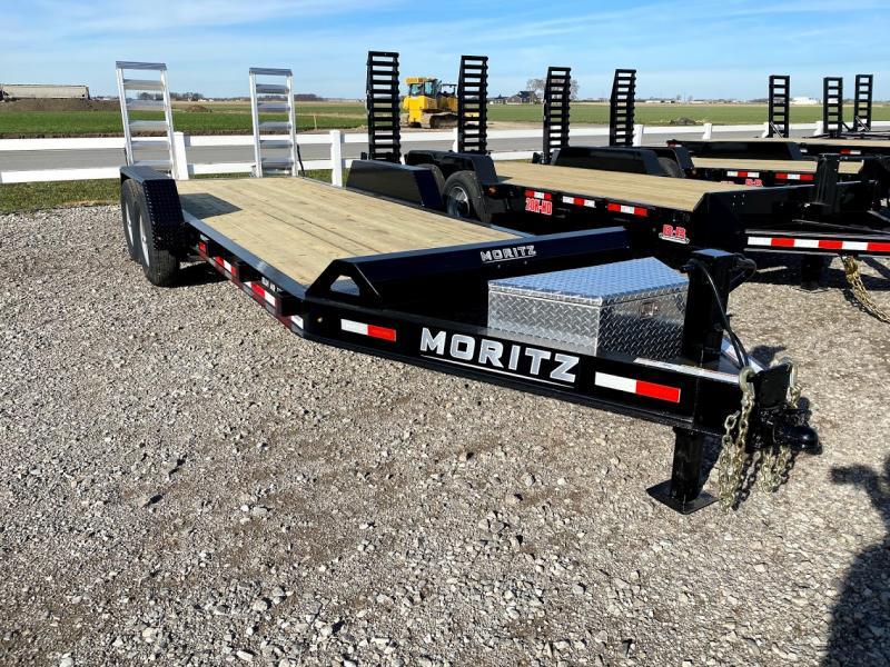 2021 Moritz 20' Ar 14k Equipment Trailer