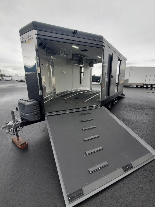 2016 Trails West Manufacturing RPM Snowmobile Trailer