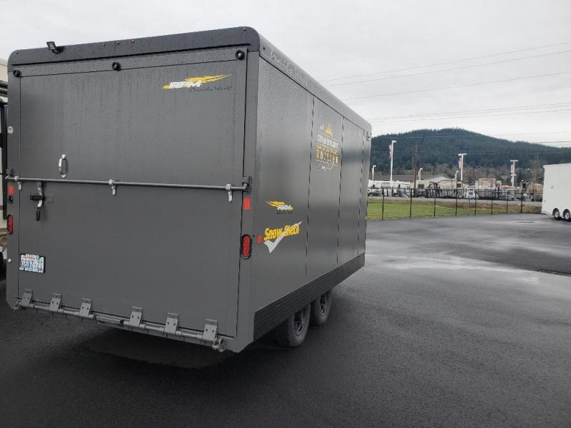2016 Trails West Manufacturing RPM Snowmobile Trailer