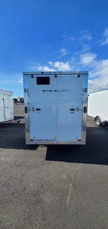 2021 Alcom-Stealth 6X12 Ramp Enclosed Cargo Trailer