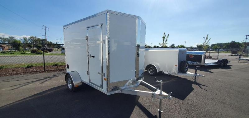 2021 Alcom-Stealth 6X10 Ramp Enclosed Cargo Trailer