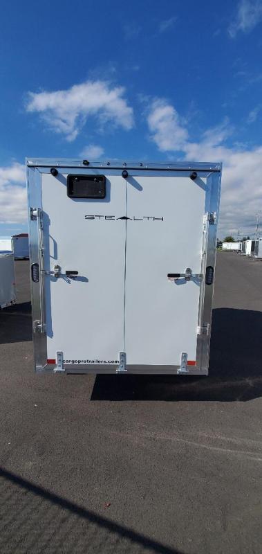 2021 Alcom-Stealth 6X10 Ramp Enclosed Cargo Trailer