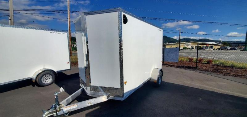 2021 Alcom-Stealth 6X12 Ramp Enclosed Cargo Trailer