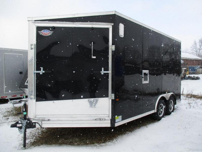 2016 Ameralite 8.5x14' Snowmobile Trailer