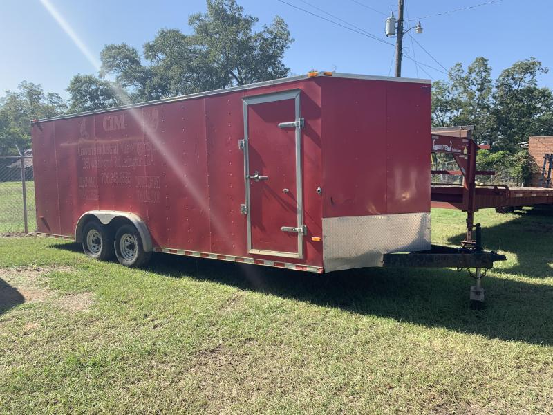 2010 Horton Trailers 8x20 Enclosed Cargo Trailer