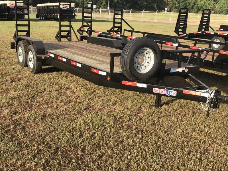 "2020 Neckover Trailers 16x6'11"" Bumper Pull Equipment Trailer"