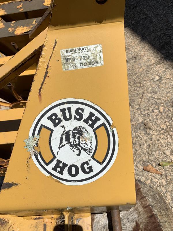 2000 Bush Hog Brand MPG-720 Core Plug Aerator