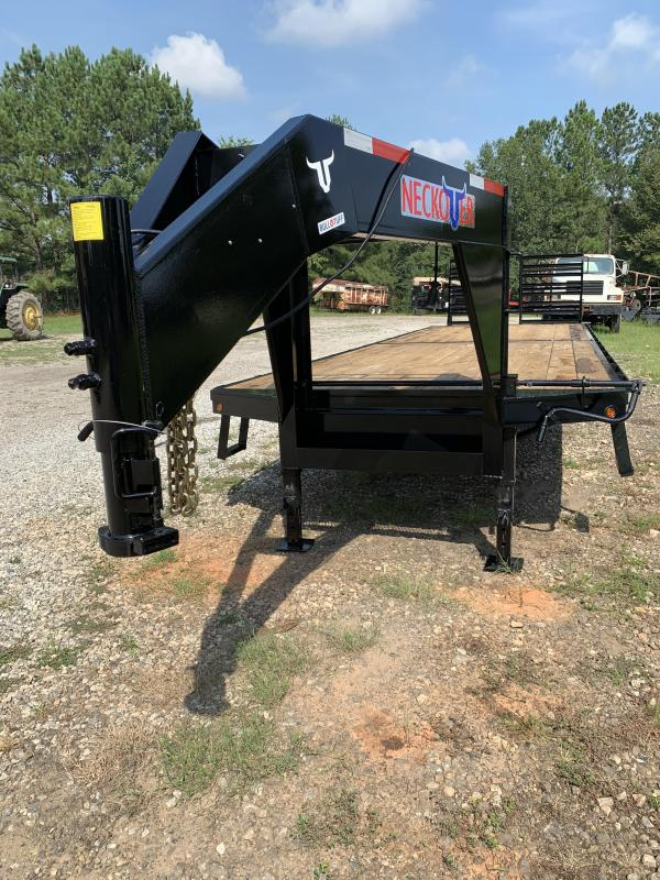 2020 Neckover Trailers 27'+5' Dovetail Equipment Trailer