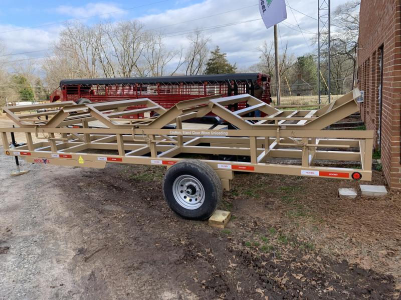 2021 Neckover Trailers 3 Hay Bale Individual Dump Other Trailer