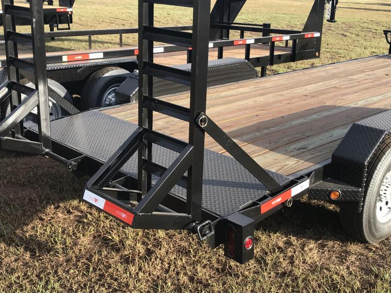 """2020 Neckover Trailers 18x6'11"""" Bumper Pull Equipment Trailer"""