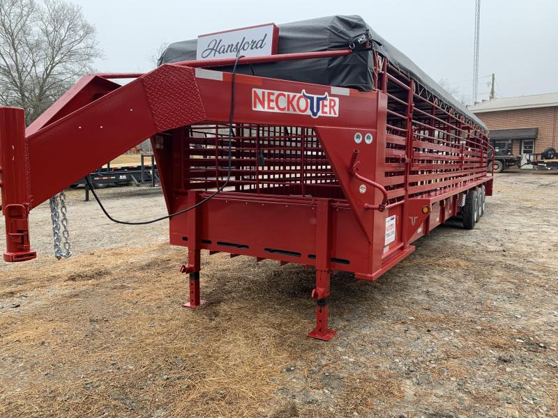 2020 Neckover Trailers 36x7 Livestock Trailer