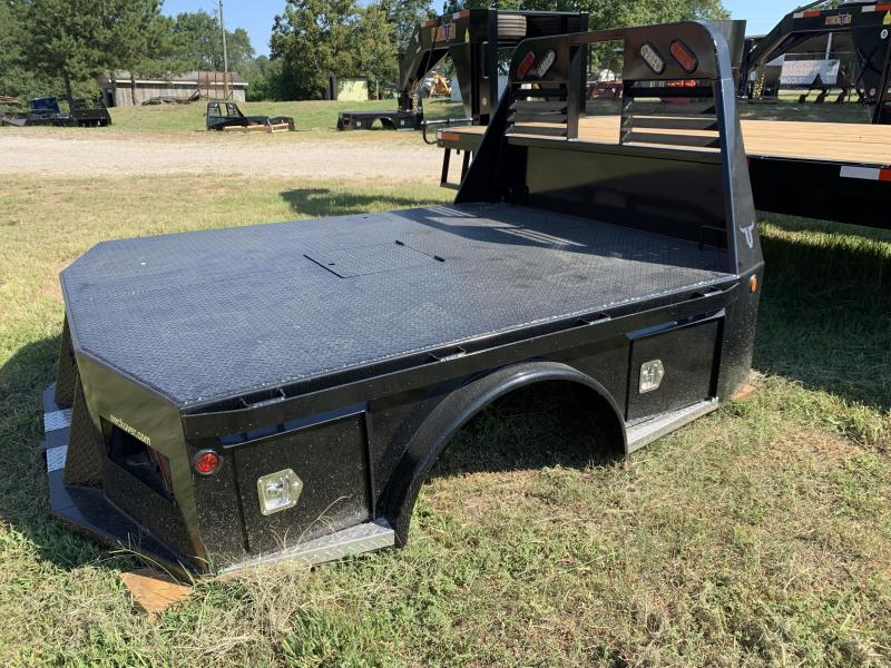2020 Neckover Trailers Dually Skirted Box Lid Truck Bed