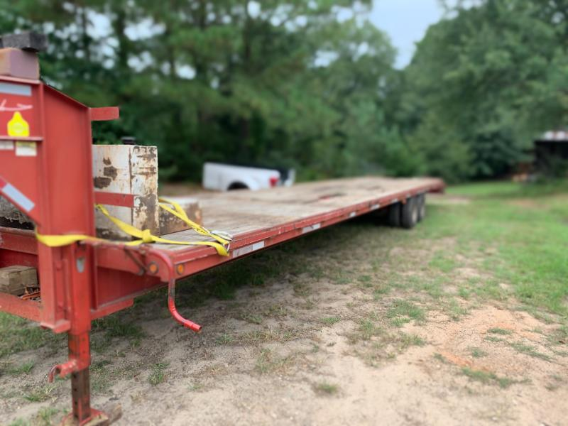 2008 Brute Trailers 40'+5' Dovetail Equipment Trailer