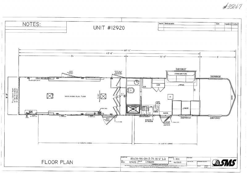 2022  40'  SHADOW GOOSENECK WITH LIVING QUARTERS TOY HAULER
