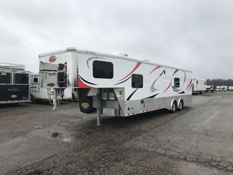 2021 SUNDOWNER 8.5X38 GOOSENECK LIVING QUARTERS TOY HAULER WITH 20' GARAGE