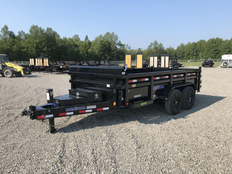2021 14' LOAD TRAIL BUMP PULL DUMP TRAILER