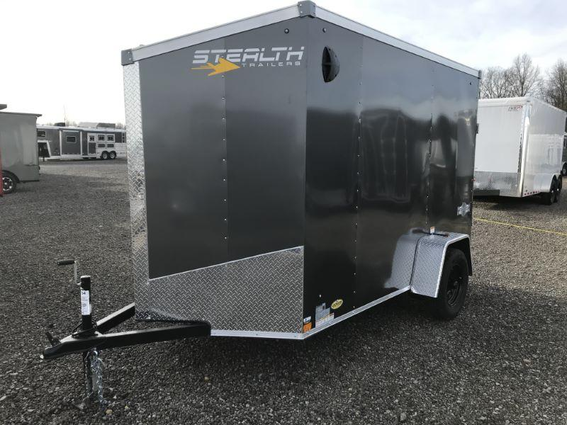 2021  6X10  STEALTH BUMPER PULL ENCLOSED TRAILER