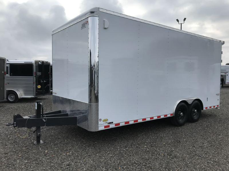 2021 8.5X20 BRAVO BUMPER PULL ENCLOSED EQUIPMENT TRAILER