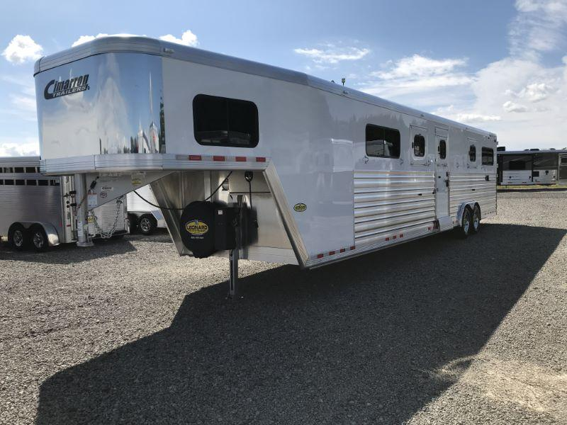 2020 6 HORSE CIMARRON GOOSENECK W/DRESS HORSE TRAILER