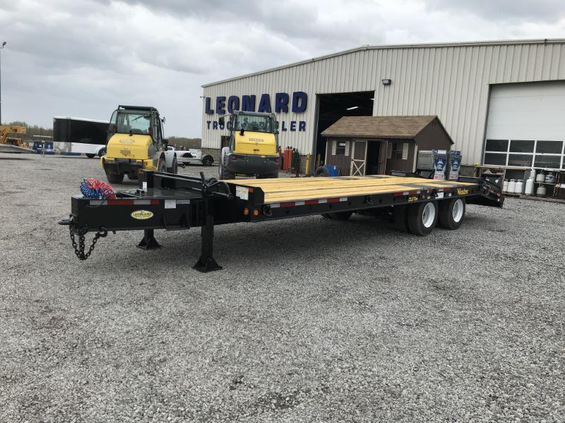 2020 8.5 X 27 WINSTON 22 TON  EQUIPMENT TRAILER