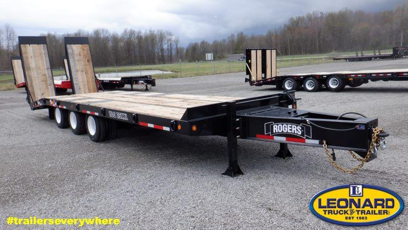 2020 8.5 X 30 ROGERS 25 TON TAG EQUIPMENT TRAILER