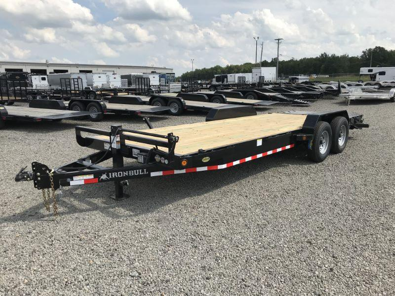 2020  22'  NORSTAR IRON BULL BUMPER PULL EQUIPMENT TRAILER
