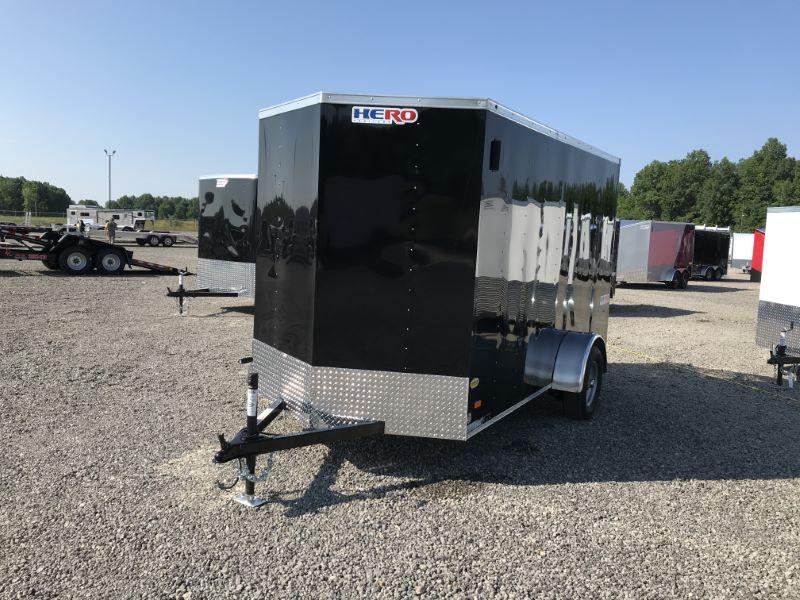 2020 6 X 12 BRAVO BUMPER PULL ENCLOSED TRAILER