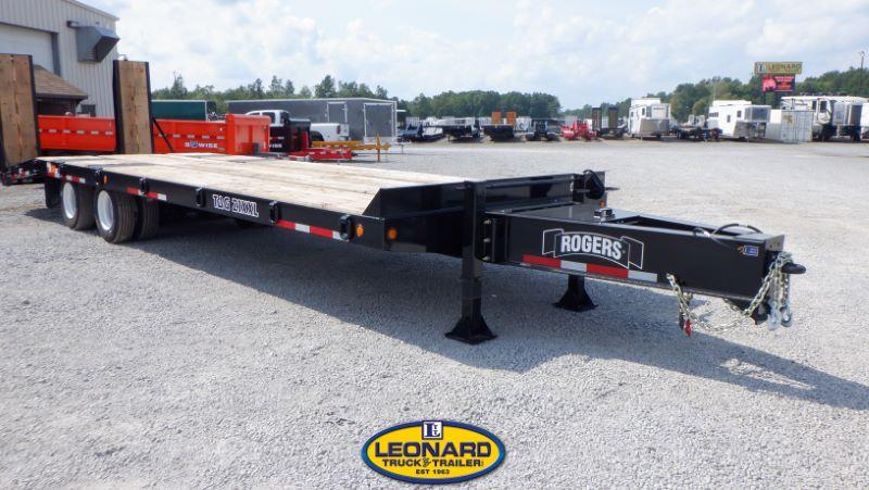 2021 8.5X30 ROGERS TAG HITCH EQUIPMENT TRAILER