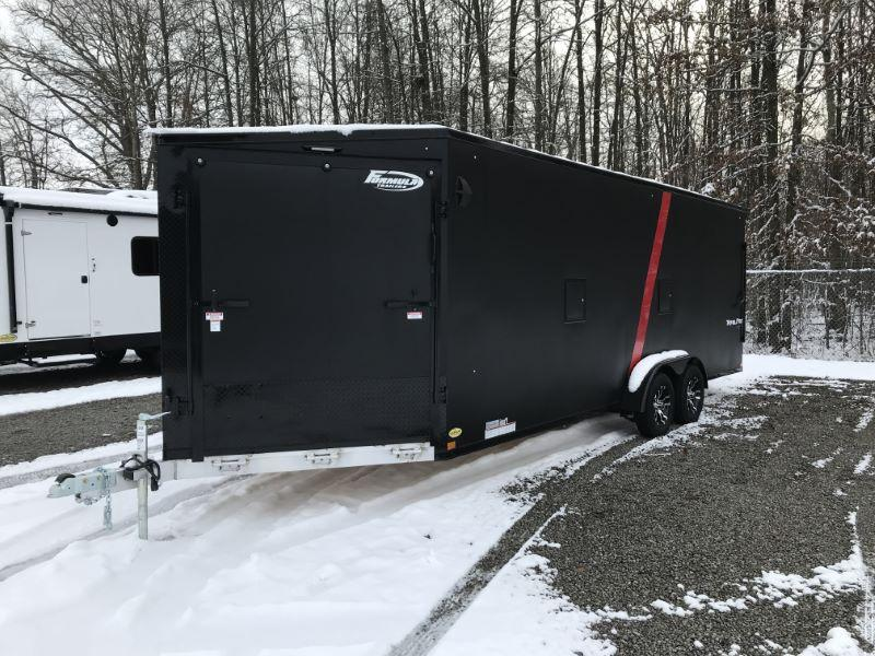 2021 27'  FORMULA BUMPER PULL ENCLOSED SNOWMOBILE TRAILER