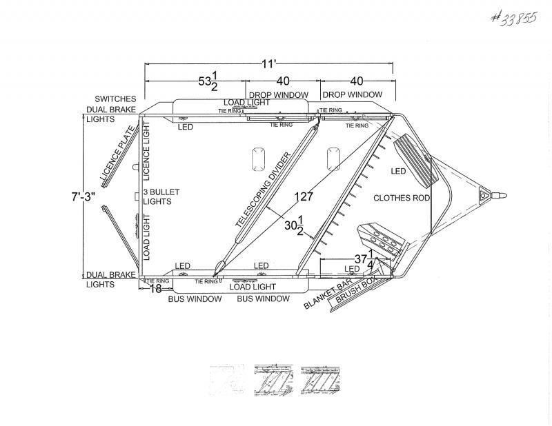 2022 2 HORSE LOGAN COACH BUMPER PULL HORSE TRAILER