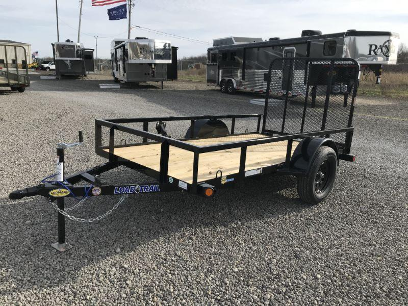 2021  10'   LOAD TRAIL BUMPER PULL UTILITY TRAILER