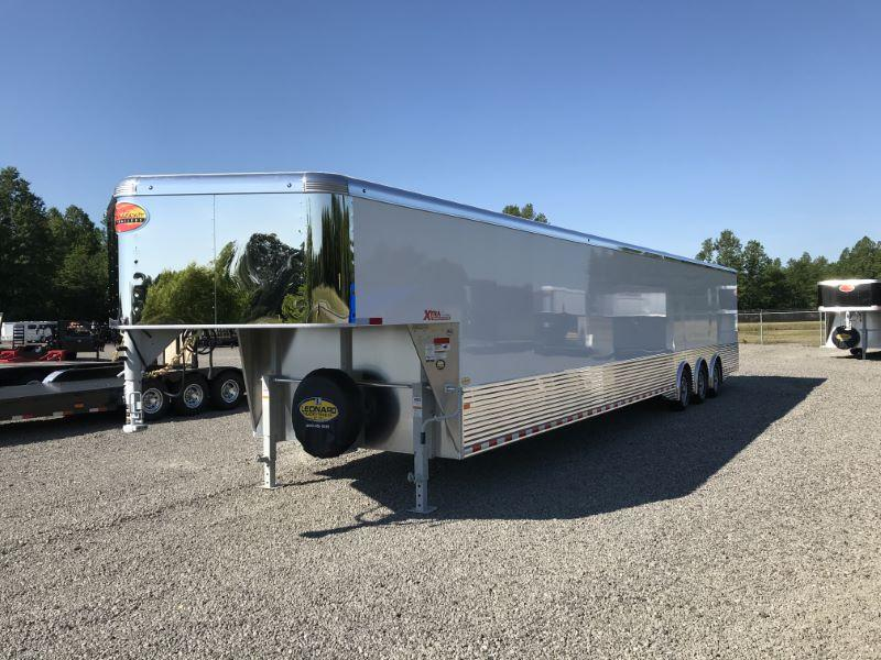 2021 40' SUNDOWNER GOOSENECK ENCLOSED CAR TRAILER