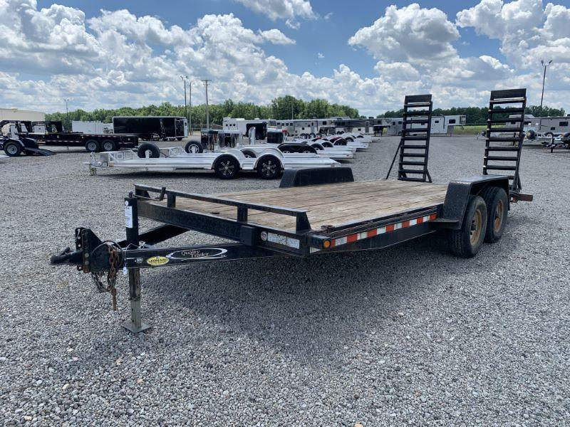 2010 18'  QUALITY TRAILER BUMPER PULL EQUIPMENT TRAILER