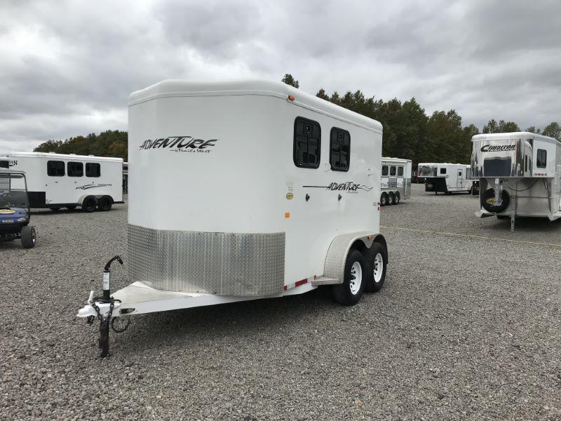 2006  2 HORSE  TRAILS WEST BUMPER PULL HORSE TRAILER